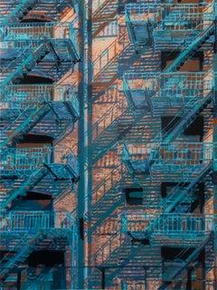 """Rear Window 1"" - (18 layer spray paint stencil)"