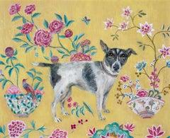 Chinese Rug - Contemporary - animal paintings - interior scene