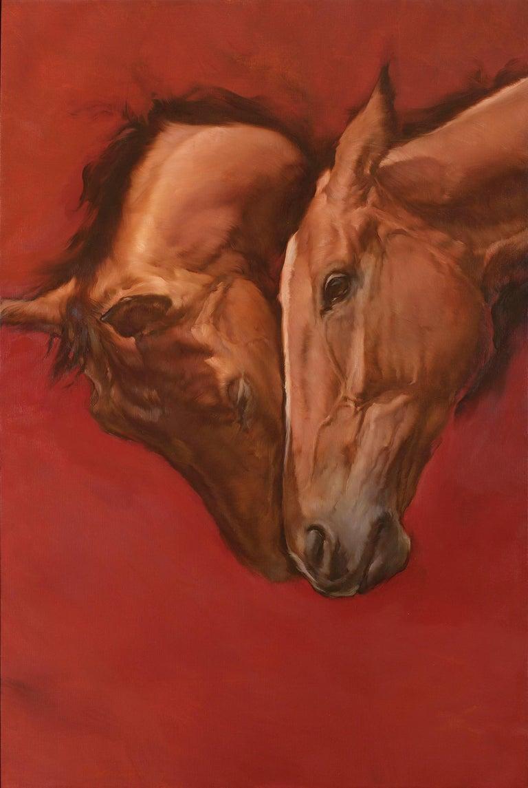 Michael J Austin Figurative Painting - Equus V