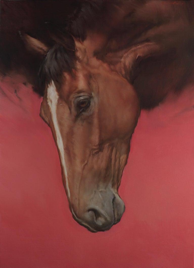 Michael J Austin Animal Painting - Equus II