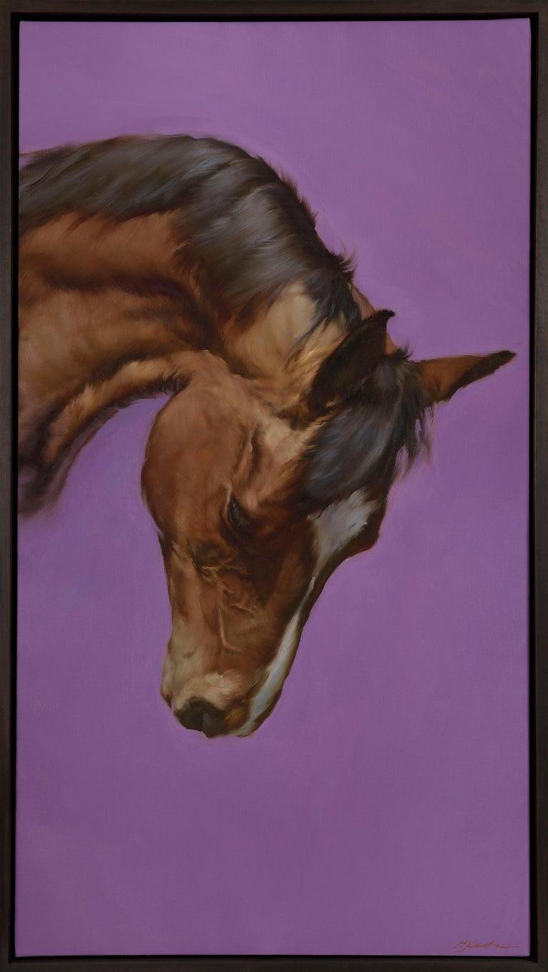 Michael J Austin Animal Painting - Equus VI