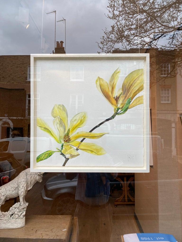 Magnolia Butterflies - Art by Rosie Sanders