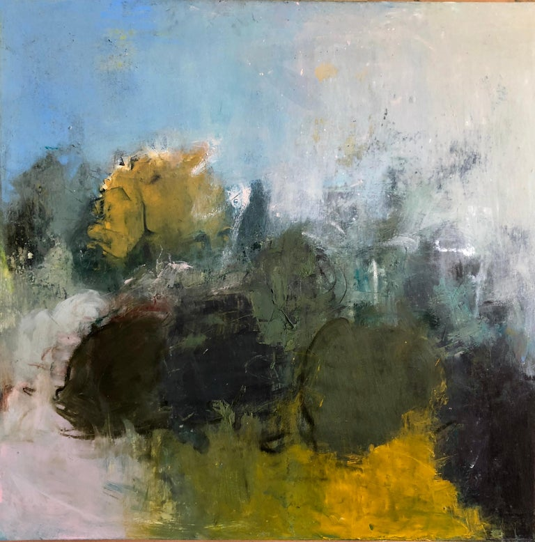 Sandrine Kern Abstract Painting - I Want To Be With You