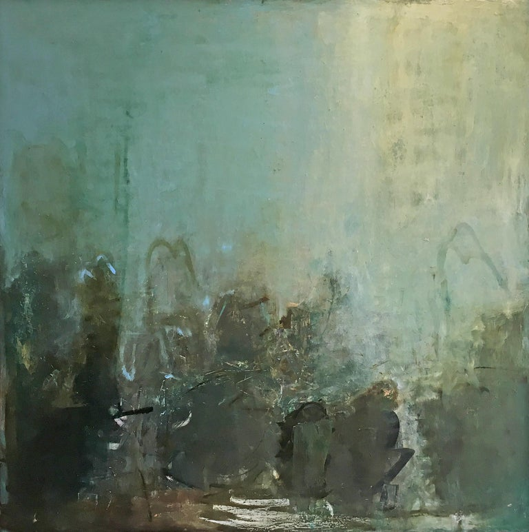 Sandrine Kern Abstract Painting - Any Day Now