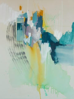 Contemporary Abstract painting, Rebecca Stern, Missing Memories