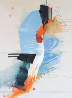 Contemporary abstract painting, Rebecca Stern, Forward Facing