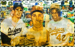 Dodgers Da Brooklyn Bums, Lenticular Print by DJ Leon, 36 x 24 in