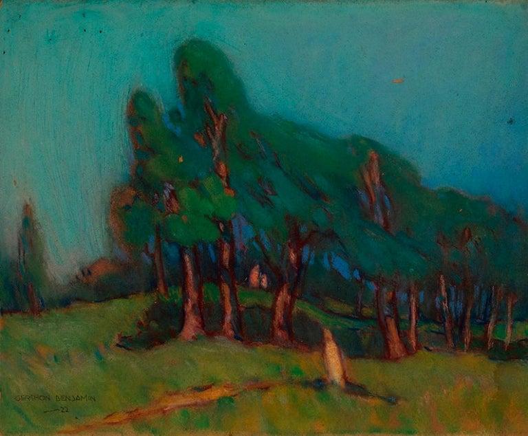 "Gershon Benjamin Landscape Art - ""Summer"""