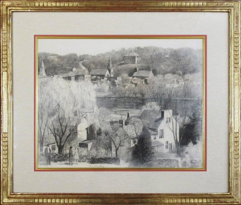 """Daniel Garber Landscape Art - """"From New Hope to Lambertville"""""""