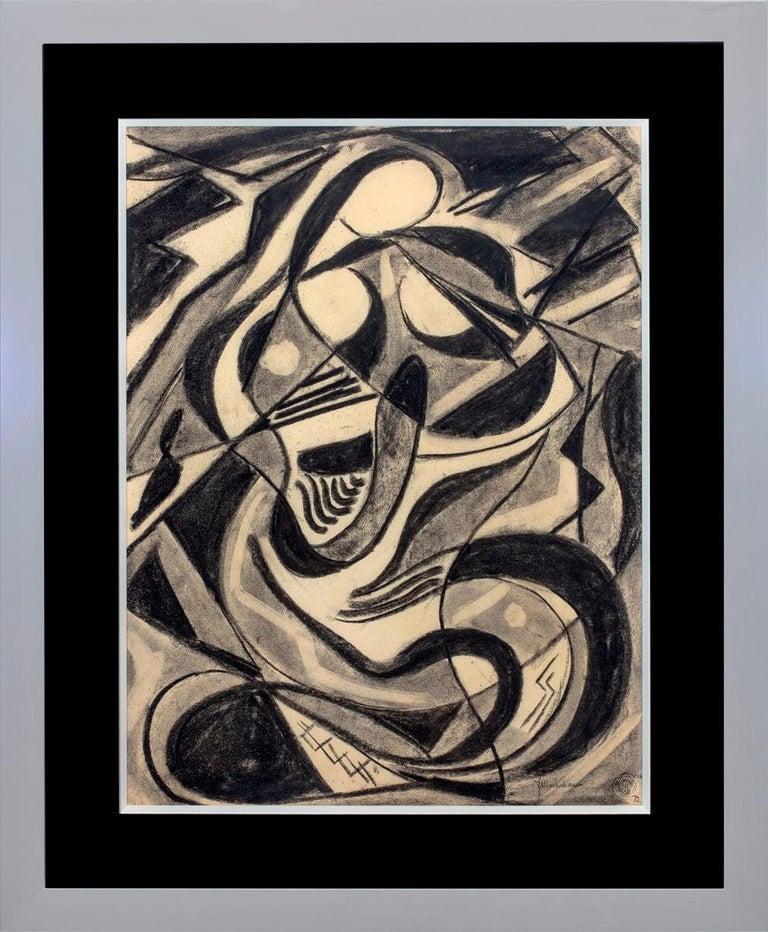 """Joseph Meierhans Abstract Drawing - """"Dancer"""""""