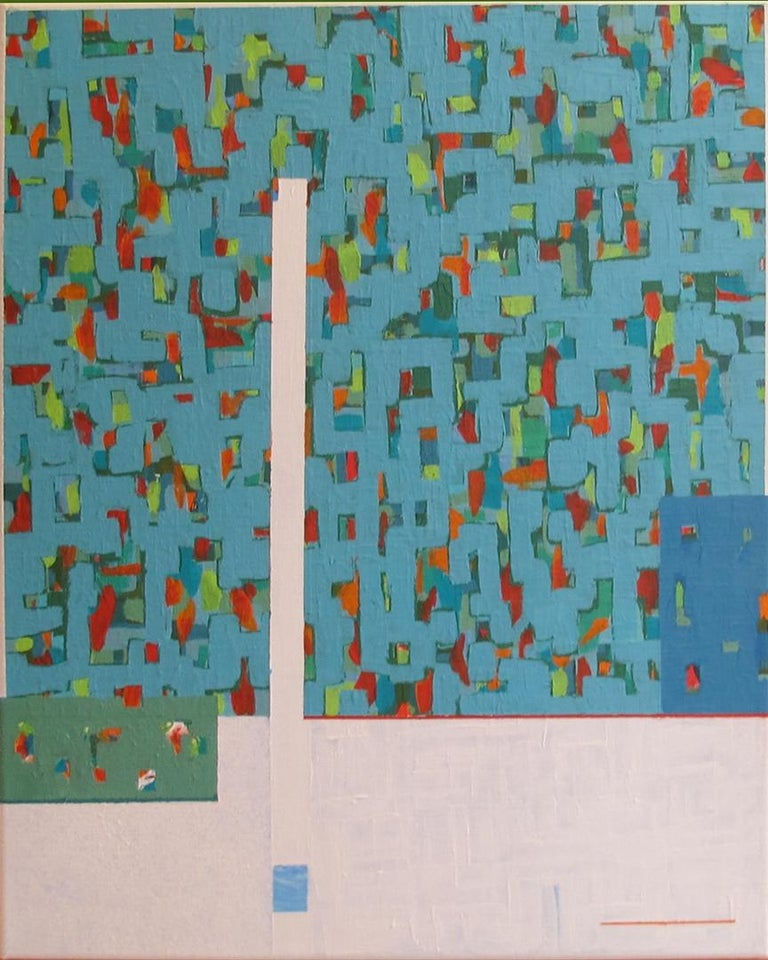 """Solomon Ethe Abstract Painting - """"Staccato XI"""""""