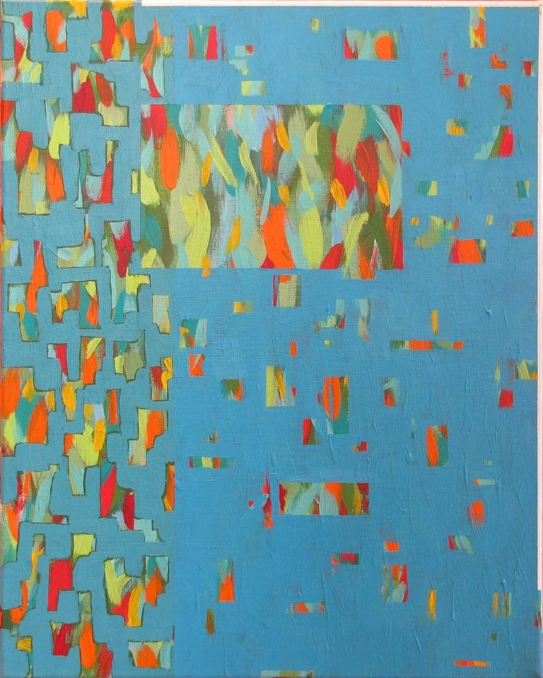 """Solomon Ethe Abstract Painting - """"Staccato I"""""""