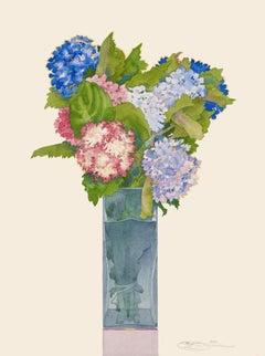 Hydrangeas - original watercolor
