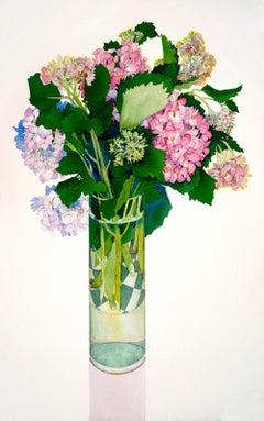 Cut Hydrangea / watercolor