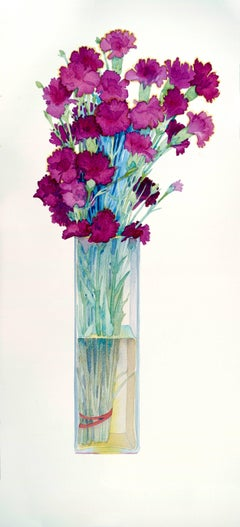 Carnations / watercolor