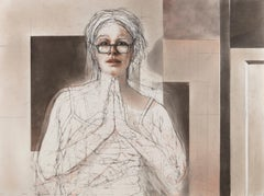 Openings (Catherine) / figurative work, contemporary woman
