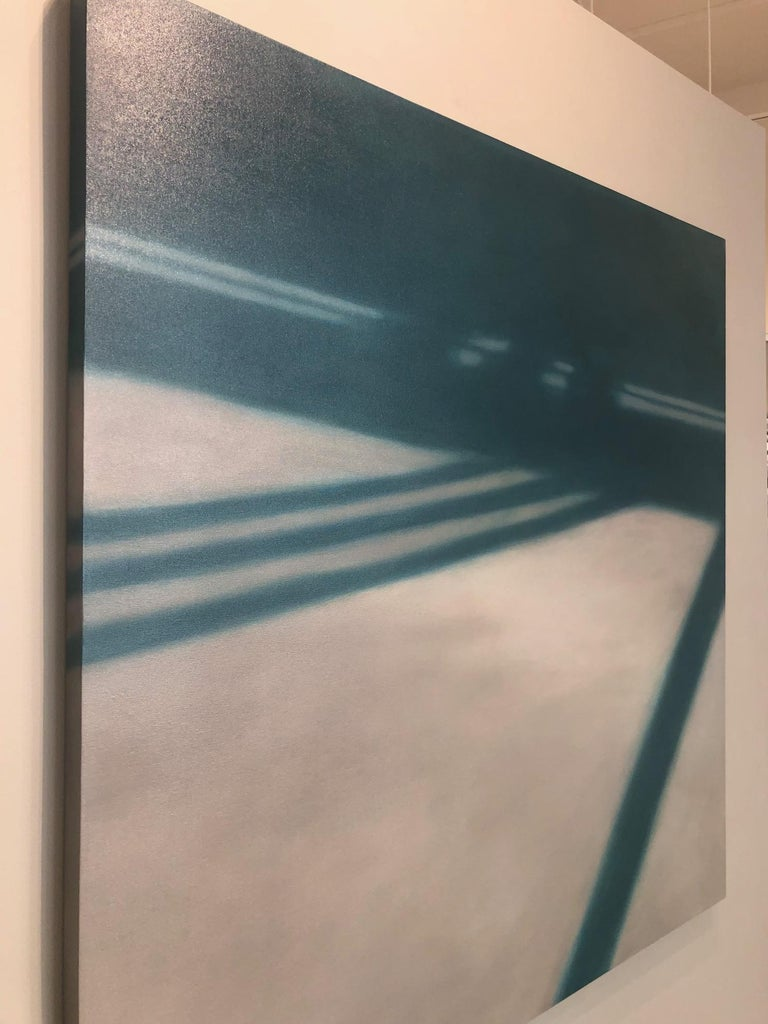 Reflections on Crossing XXV / abstract realism, architecture, minimalism For Sale 2