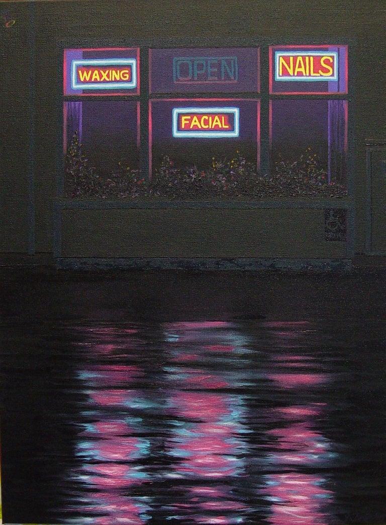 James Torlakson Still-Life Painting - Nails