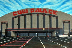 Cow Palace - oil on canvas