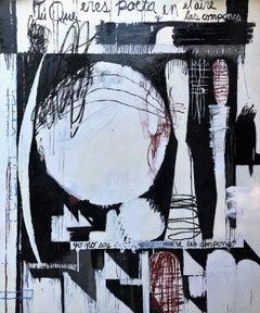 Tu Que Eres Poeta - original painting 72 x 60 inches
