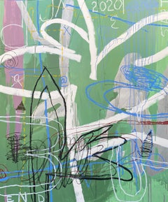 Uncertain Steps — 72 x 60 inches