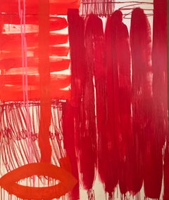 Unnamed no. 3 — 72 x 60 inches, RED