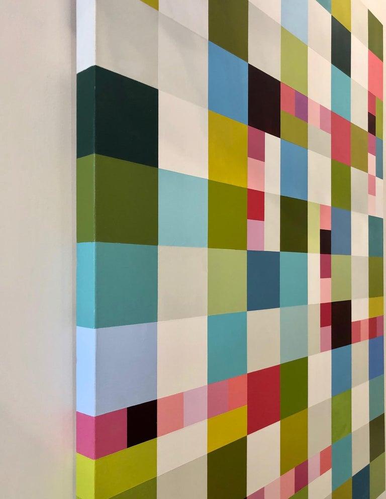 Eye Candy - Beige Interior Painting by Jill  Keller Peters