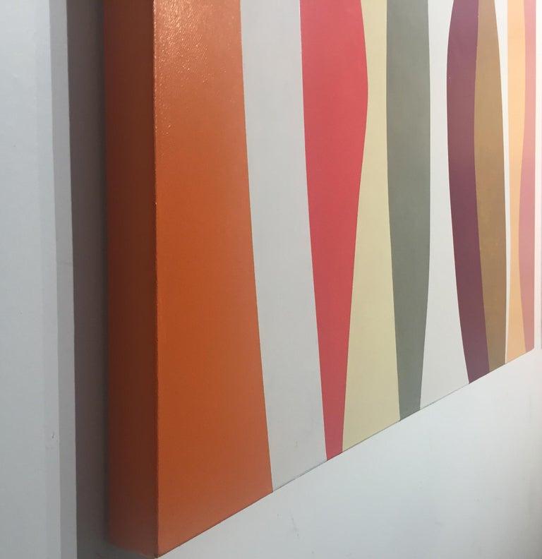 Marimba - Painting by Jill  Keller Peters