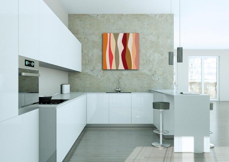Marimba - Beige Interior Painting by Jill  Keller Peters