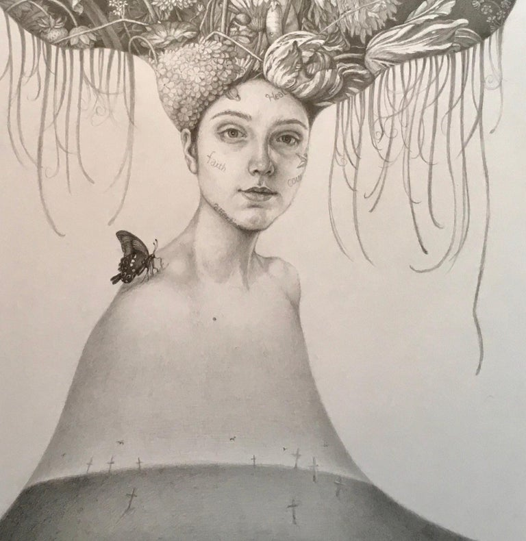 Infanta Madre Tierra (Mother Earth) - Realist Art by Chikako Okada
