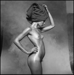 Nude For Harpers Bazaar - signed limited edition silver gelatine print