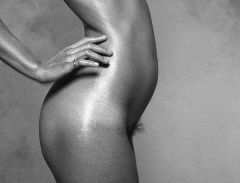 Nude For Harpers Bazaar - signed limited edition silver gelatin print  - Modern Photograph by Peter Rand