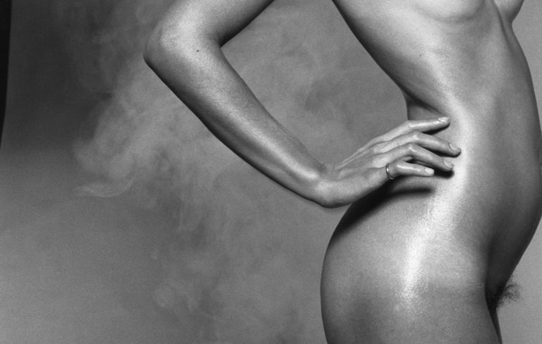 Nude For Harpers Bazaar - signed limited edition silver gelatin print  For Sale 1