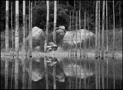 ' Reflection Lake '  signed limited edition silver gelatine print - Oversize