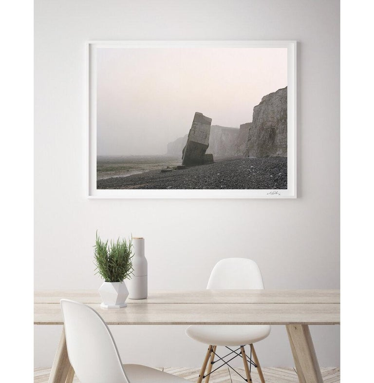 The Last Stand. Sainte-Marguerite-sur-mer, Upper Normandy, France. 2012 - Modern Photograph by Marc Wilson