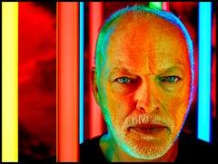Portrait of Pink Floyd's David Gilmour
