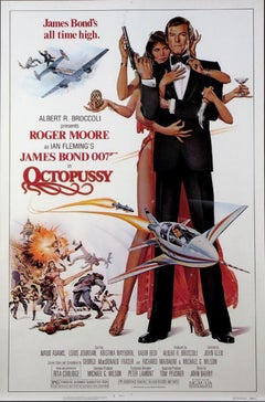 """""""Octopussy"""" Original Vintage 1983 Theatrical Poster"""