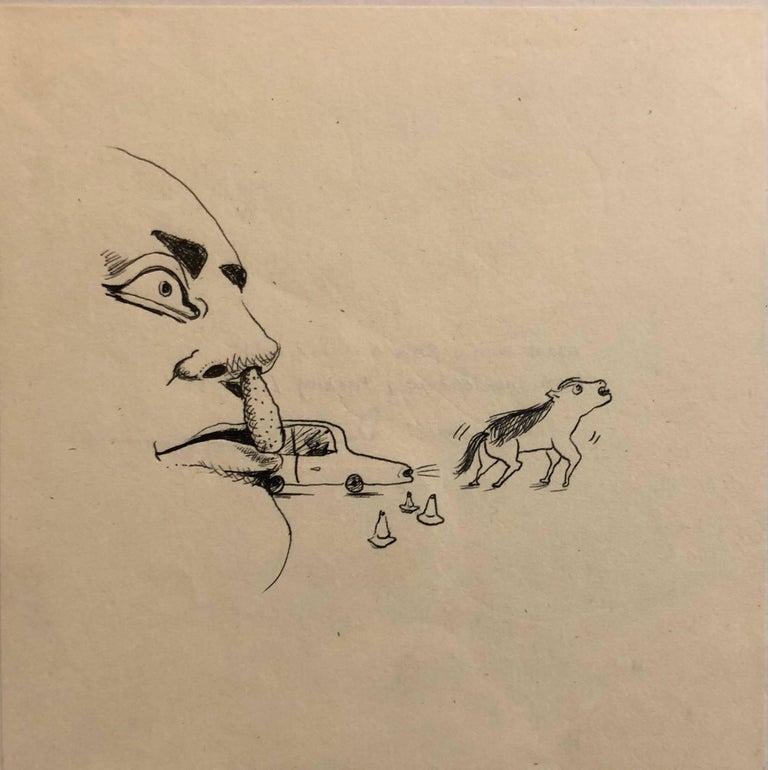 David Humphrey Animal Art - Collaborative Contemporary Surrealist Cartoon Drawing Humphrey + Coates