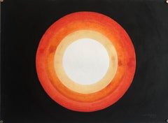 Chatra Chakra Paase Abstract Biomorphic Modern Canadian Indian Painting