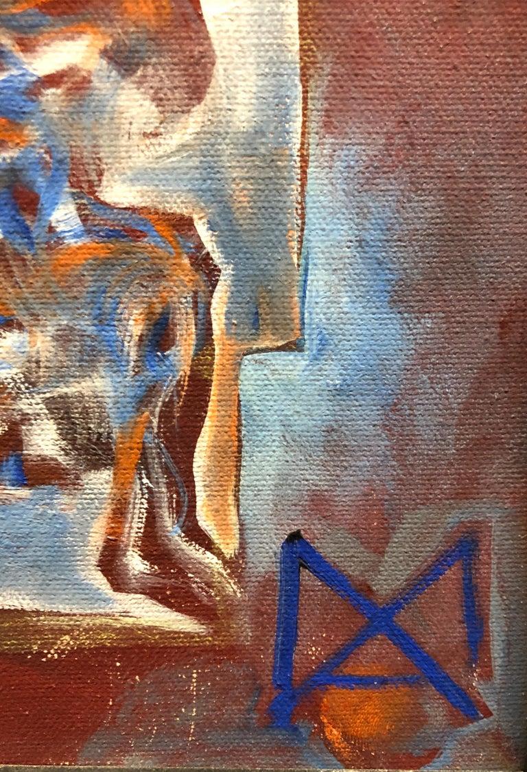 Matthias Alfen German Sculptor Modern Abstract Expressionist Painting Psychogram 4