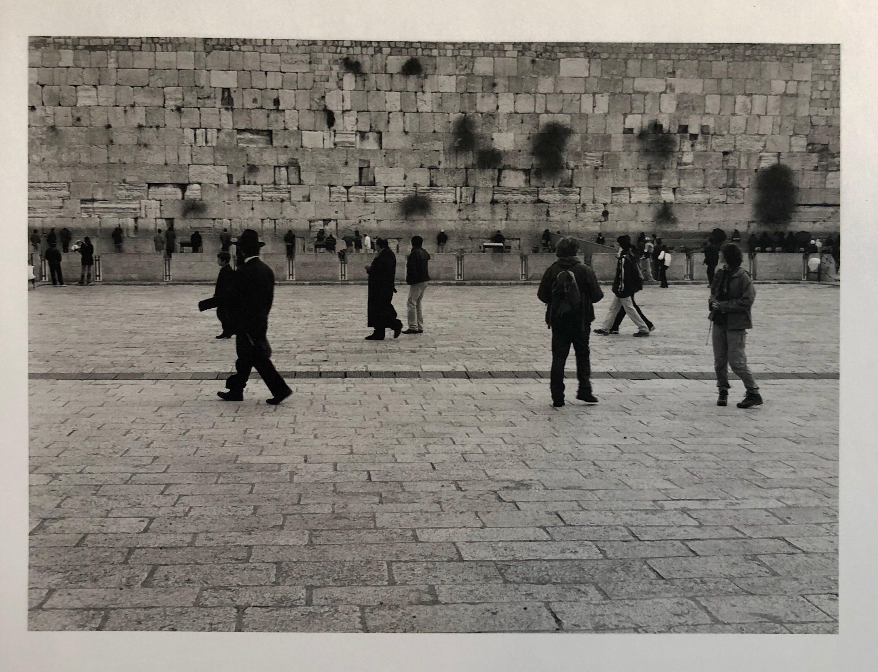 Jerusalem, Israel Western Wall Ed of 5 Vintage Silver gelatin Photograph Print