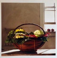 Swiss Chard, Kitchen, Large Format Photo 24X20 Color Photograph Beach House RI