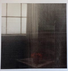 Gray Afternoon, Large Format Flower Photo 24X20 Color Photograph Beach House