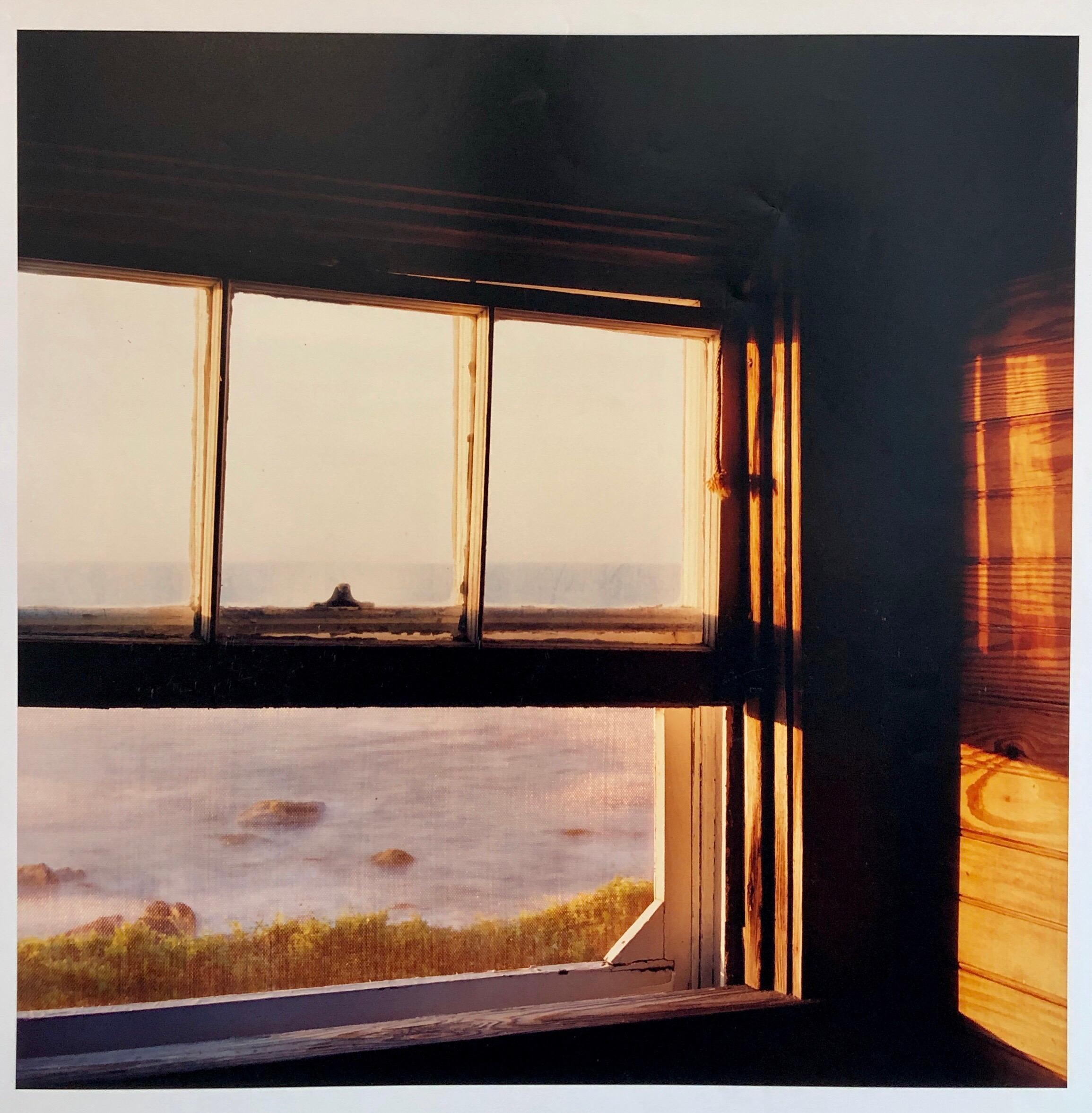The Little Window, Large Format Photo 24X20 Color Photograph Beach House RI