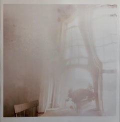 Deep Fog, Misty, Moody Large Format Photo 24X20 Color Photograph Beach House