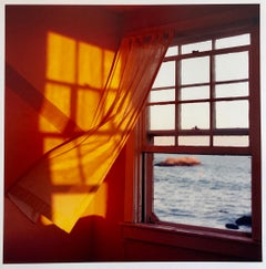 Just Before Sundown, Large Format Photo 24X20 Color Photograph Beach House