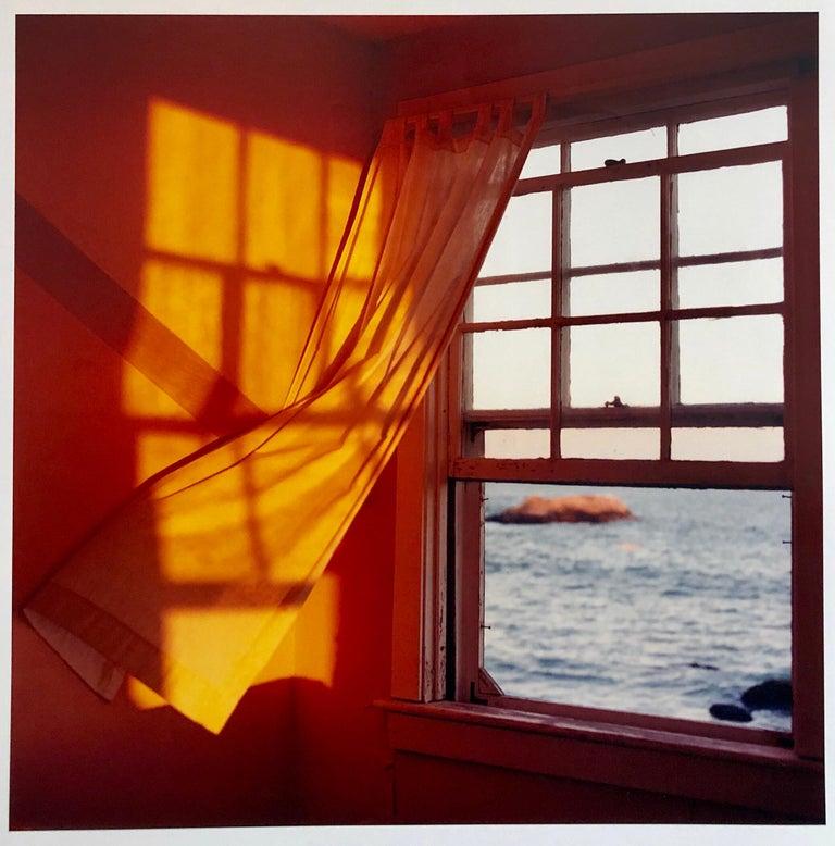 Peter C. Jones  Still-Life Photograph - Just Before Sundown, Large Format Photo 24X20 Color Photograph Beach House
