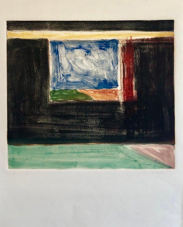 Abstract Pattern & Decoration Monoprint Monotype Painting Print Pierre Obando 3