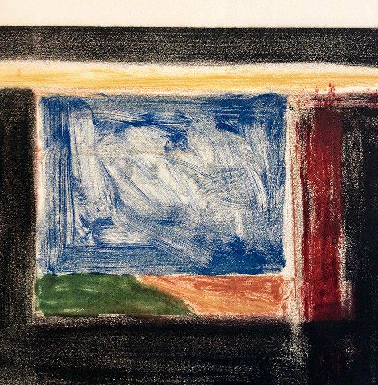 Abstract Pattern & Decoration Monoprint Monotype Painting Print Pierre Obando 2