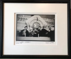 Photo Purim Pestalozzi Str Synagogue Berlin Vintage Silver Gelatin Photograph